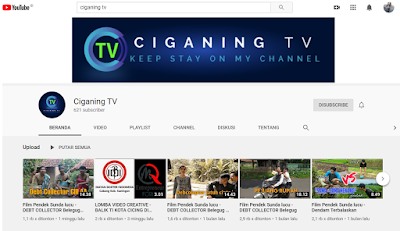 Ciganing TV Youtube Channel