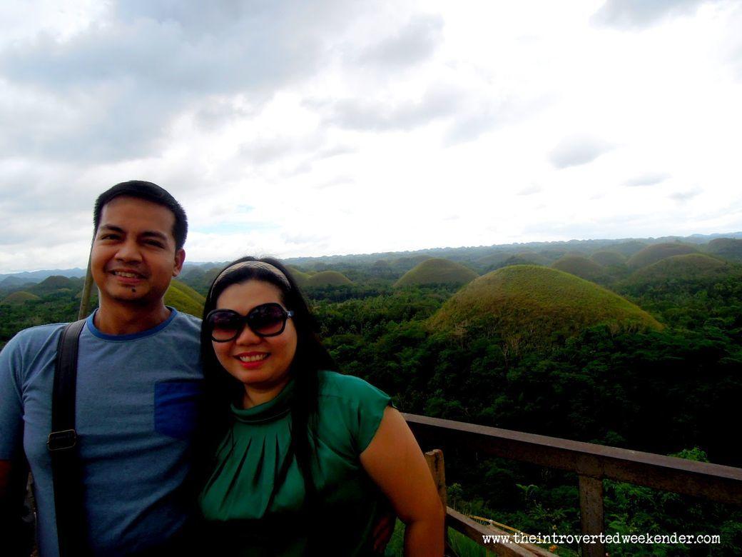 Beautiful Chocolate Hills in Bohol