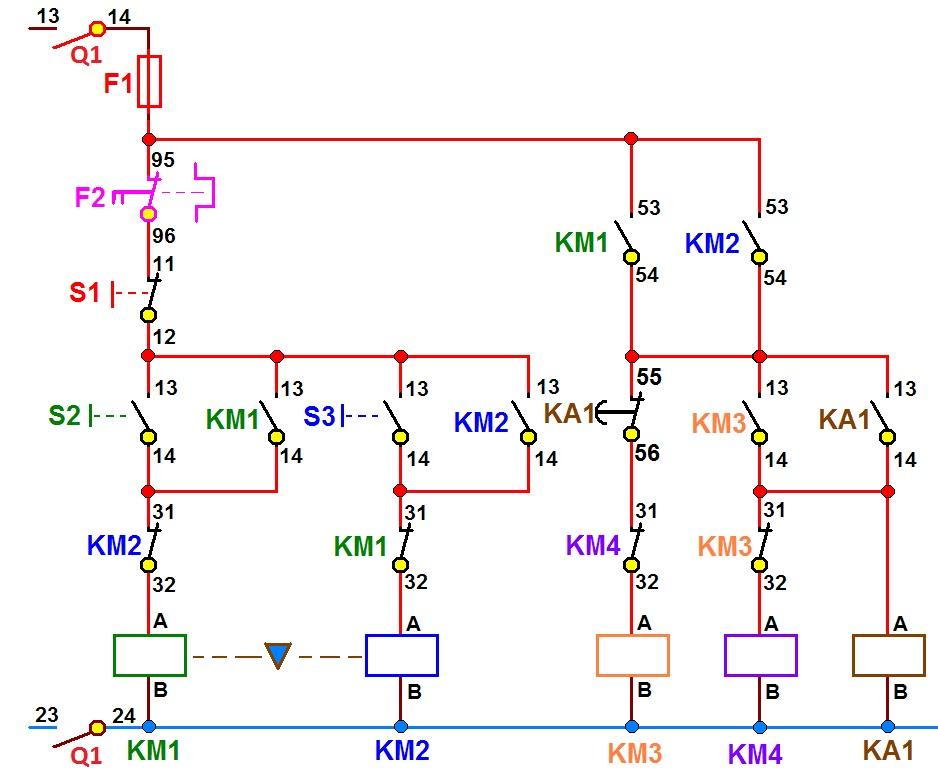 coparoman  diagrama el u00e9ctrico de arrancador inversor
