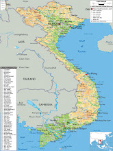 Map of the Provinces of Vietnam