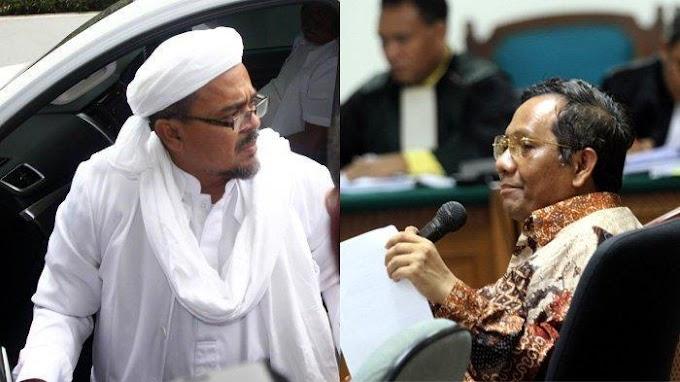 Mahfud MD Akan Selidiki Isi Surat Pencekalan Rizieq Shihab