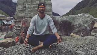 Sushant Singh Rajput 'Shiv bhakt' meditation in kedarnath