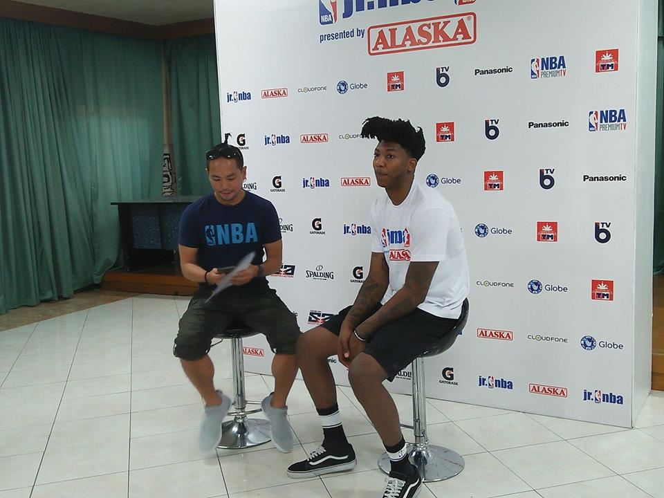 Orlando Magics Elfrid Payton And Wnba Sue Wicks In Manila For The
