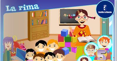 http://repositorio.educa.jccm.es/portal/odes/lengua_castellana/primaria_la_rima/index.html
