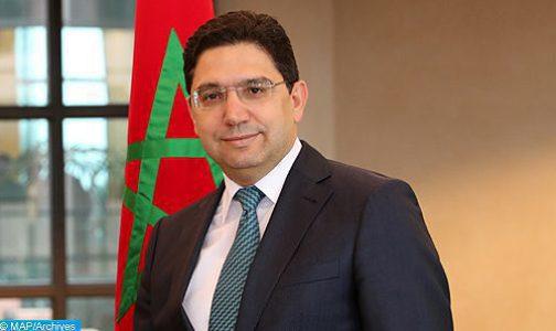 مؤتمر وزاري لحوار 5 زائد 5: المغرب يسترشد برؤية ملكية إرادية في منطقة المتوسط  (السيد بوريطة)