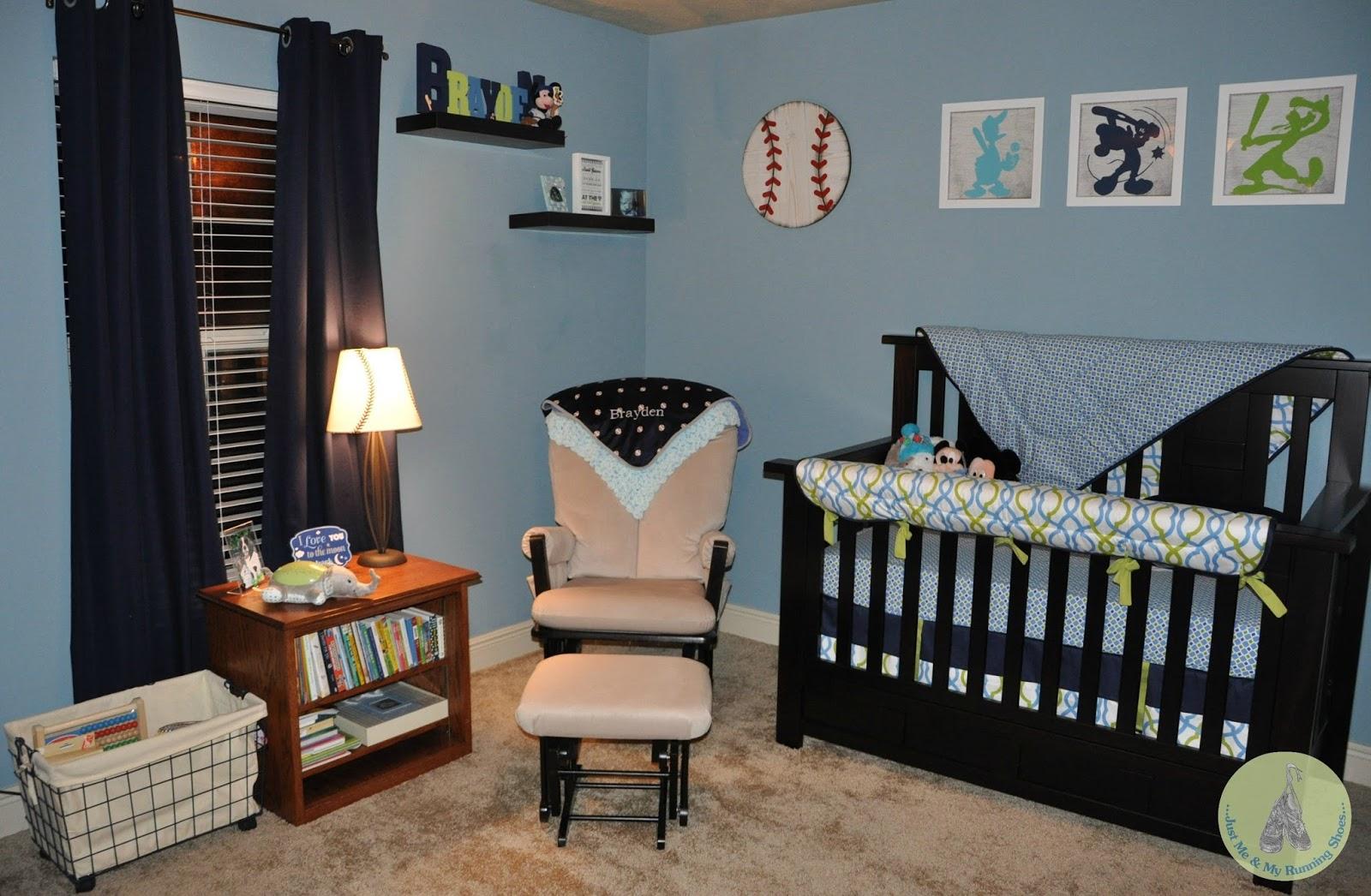 Baby Boy Nursery Disney Baseball 28229