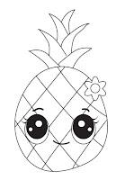 דפי צביעה פירות וירקות