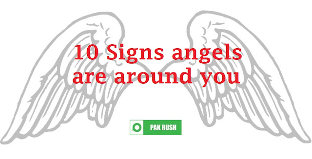 How to know if angels are around me