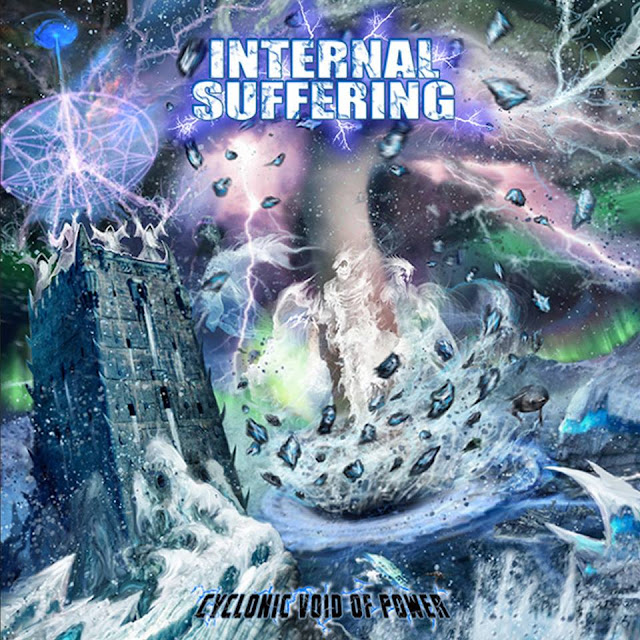 Detail from Internal Suffering New Album, Cyclonic Void of Power, Detail from Internal Suffering New Album Cyclonic Void of Power
