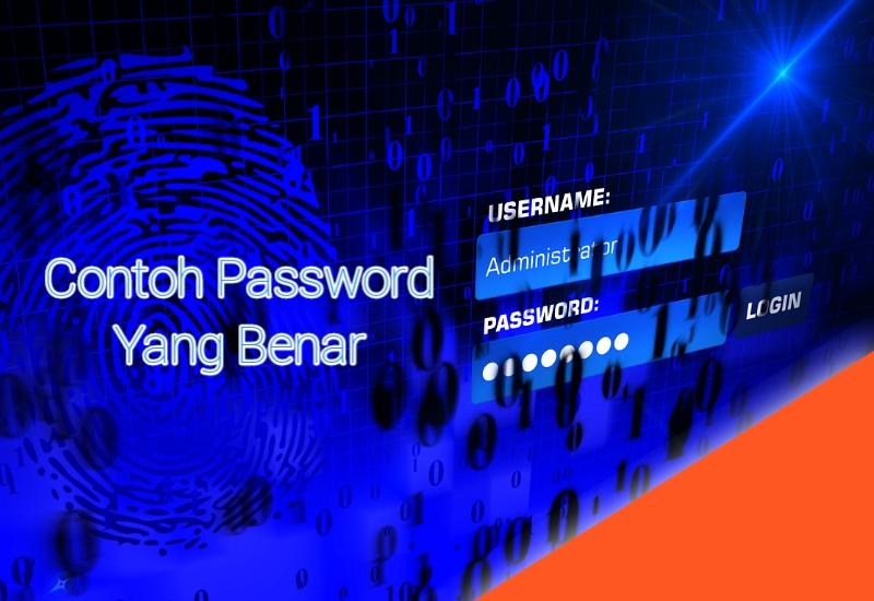 Contoh Password 6 Karakter