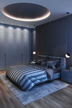 decoration plafond pour chambre à coucher