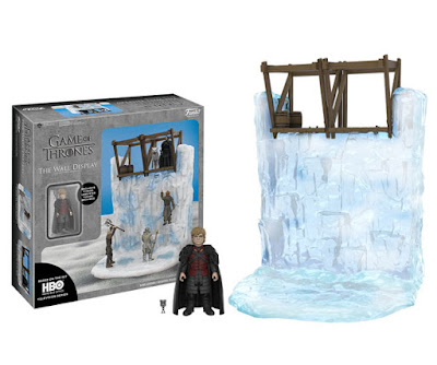 "Game of Thrones ""The Wall"" Series 3.75"" Action Figures by Funko - The Wall Display Playset with Tyrion Lannister"