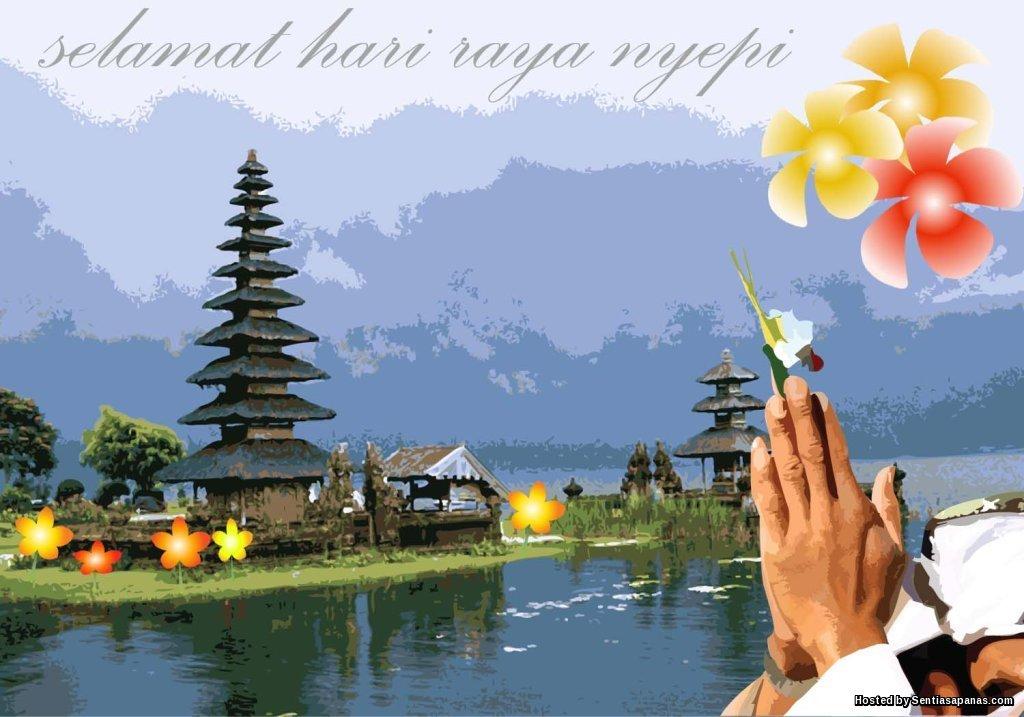 Sambutan Hari Nyepi Masyarakat Hindu Di Bali