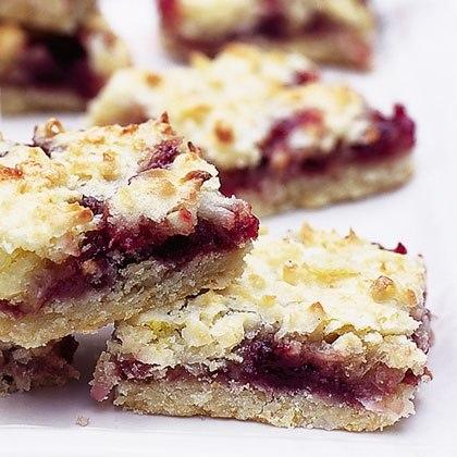 Raspberry Crumb Squares Recipe