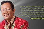 Ingat Pernyataan Mahfud soal Korupsi Kebijakan, Netizen Beri Tagar #PresidenLanggarKonstitusi