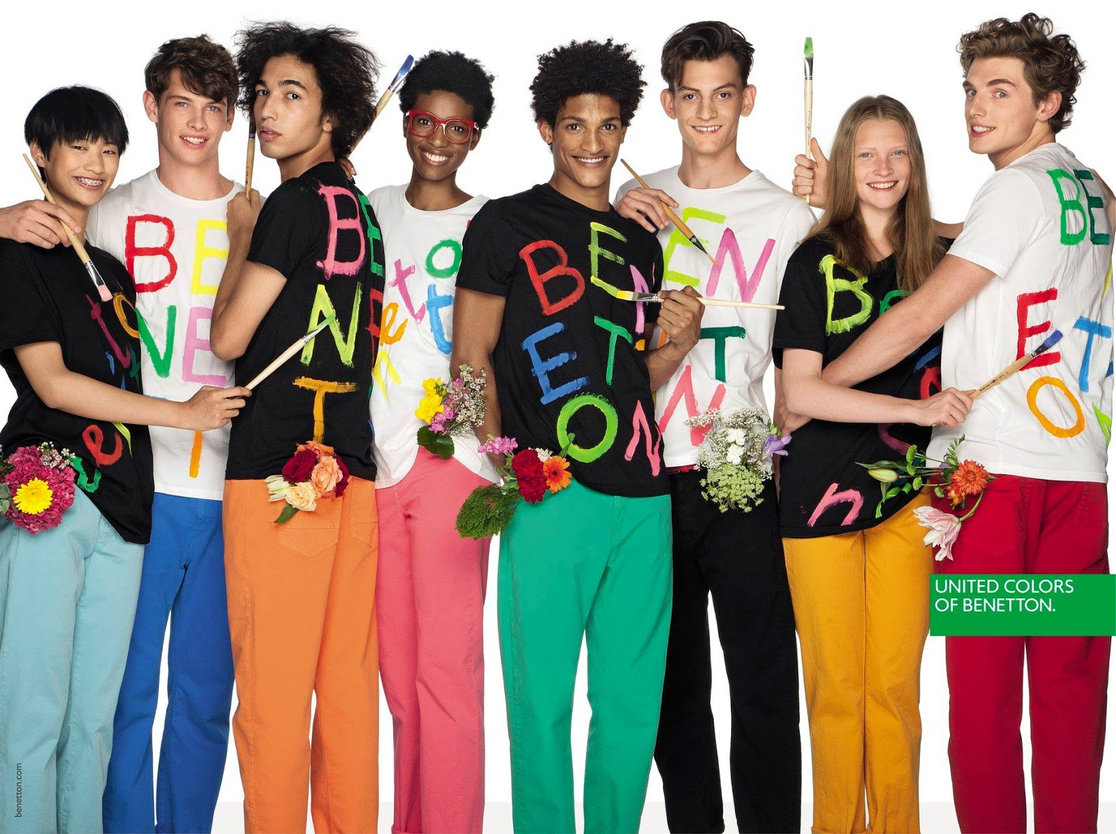 United colors of benetton spring summer 2018 campaign for Benetton we are colors