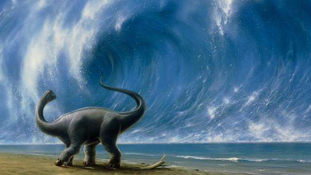 Ombak Raksasa Membunuh Dinosaurus