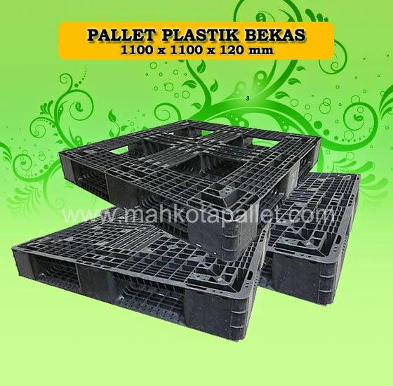 Pallet Plastik Ukuran 1100x1100x120 mm