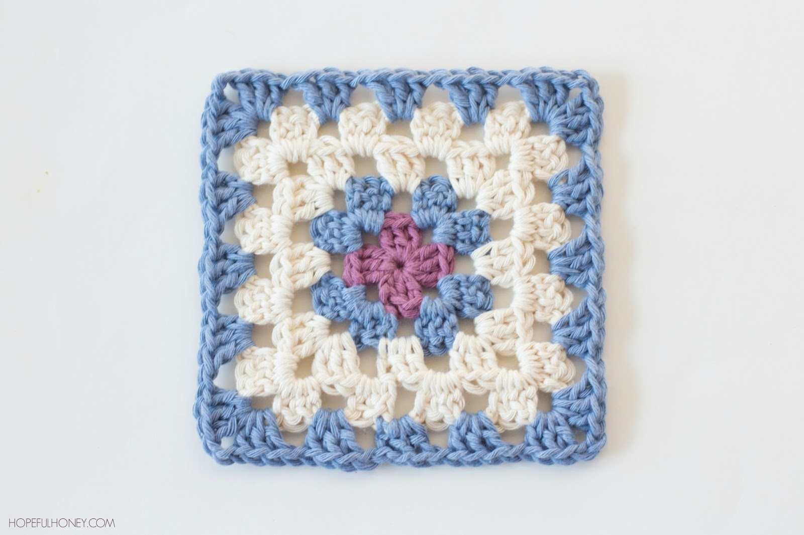 Crochet Granny Square Pattern : Hopeful Honey Craft, Crochet, Create: Classic Granny ...