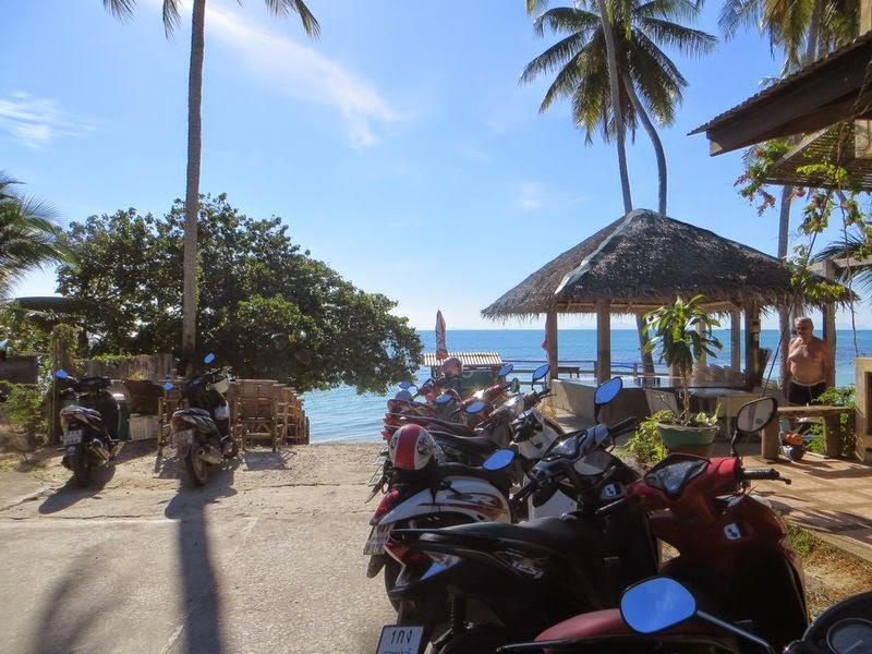 Парковка у пляжа