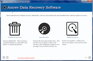 Amrev Data Recovery software key serial