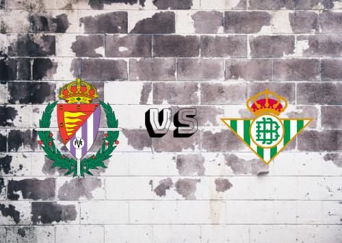 Real Valladolid vs Real Betis  Resumen