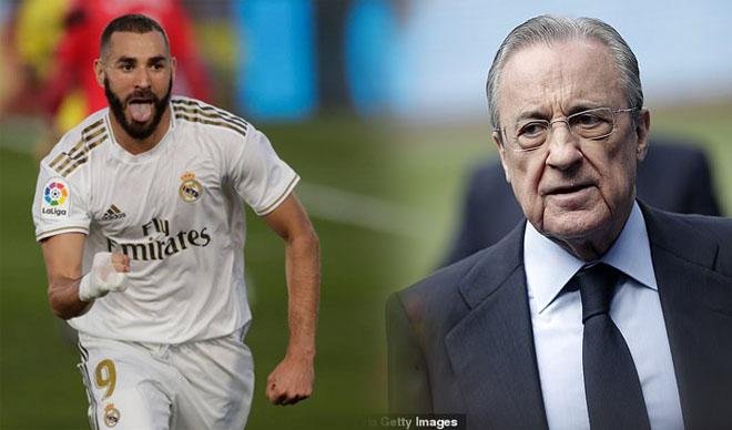 """Real vô địch La Liga: Ông trùm Perez đòi Quả Bóng Vàng cho """"gà cưng"""""""