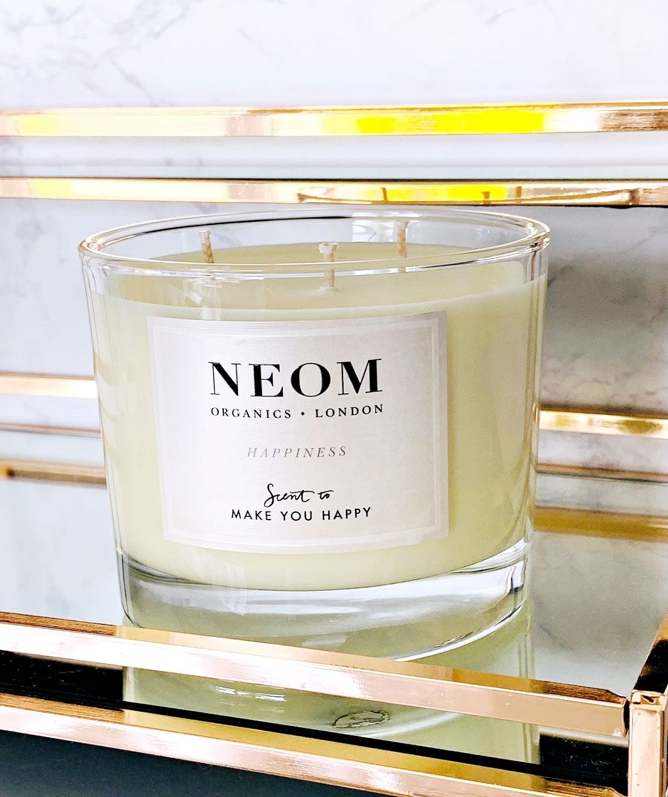 Neom Happiness Candle review & discount code