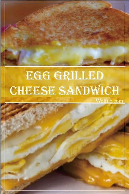 Egg Grilled Cheese Sandwich