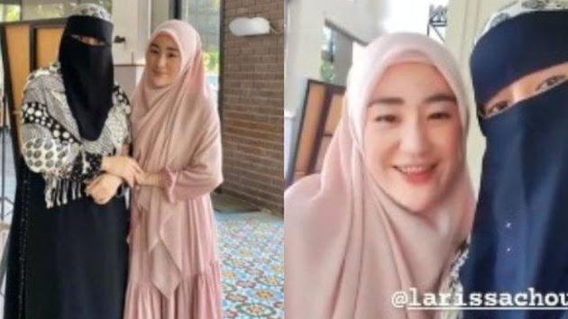 Umi Rania Bawazier dan Istri Pertama Almarhum Ustaz Arifin Ilham Diduga Tak Akur Gegara Postingan Ini, Larissa Chou Bak Kambing Hitam