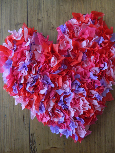 Great Big Tissue Paper Heart – Lesson Plans