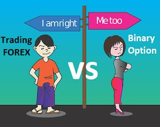 penjelasan lengkap kelebihan dan kekurangan trading forex dan binary option