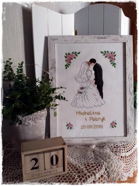 Obraz ślubny.