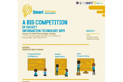 Lomba IT Nasional Fit Competition 2019 Mahasiswa