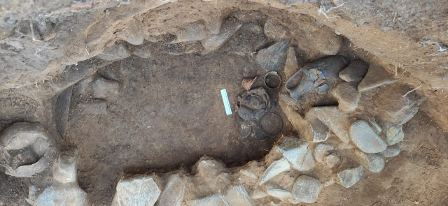 Etruscan burial discovered in Tuscan village
