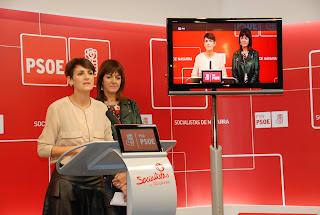 Encuentro del PSN-PSOE y PSE-EE