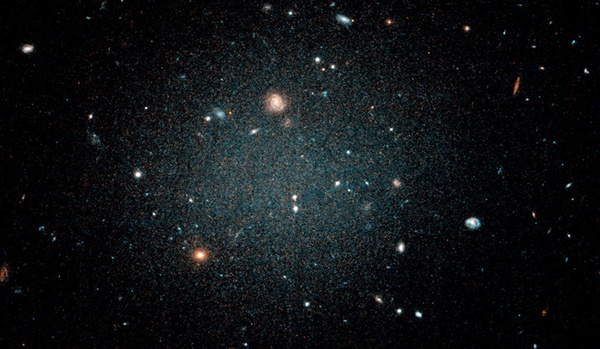 Second ghostly galaxy without dark matter discovered, first confirmed