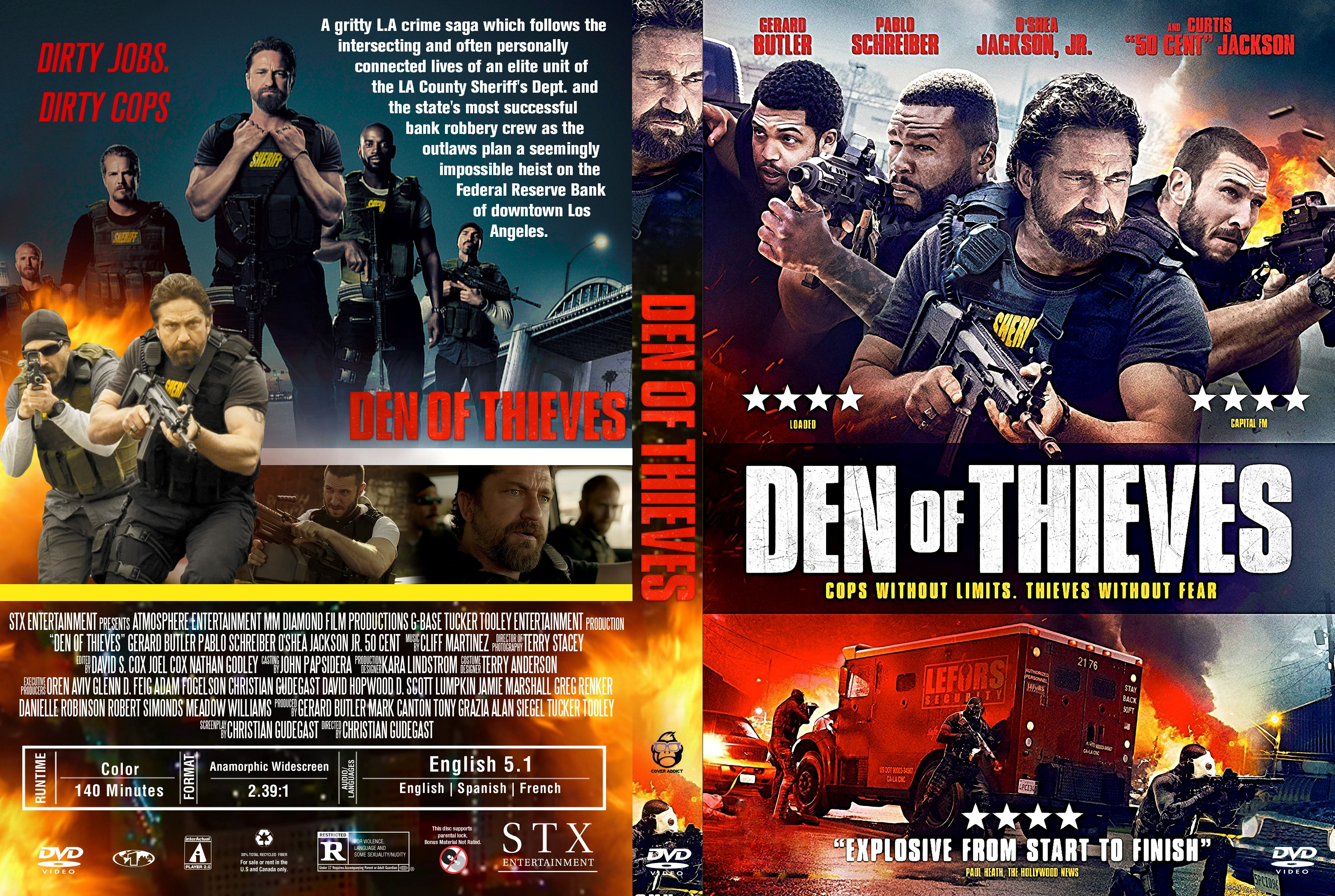 den of thieves dvd cover cover addict dvd bluray