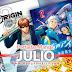 📌 Portadas Manga Alusivas de Julio ¡Veranea la mangateca!