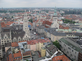 View from the Frauenkirche tower