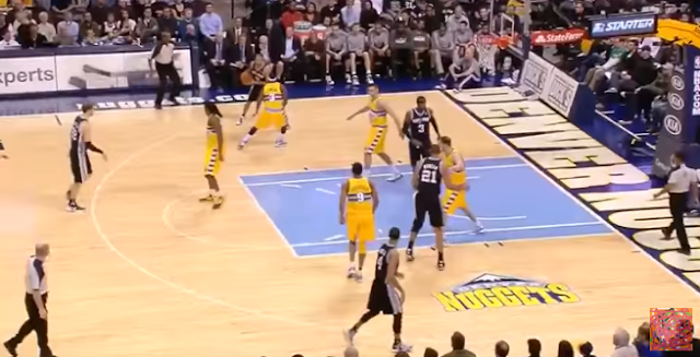 Spurs Transition Motion Play (Video)