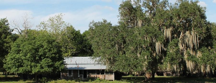 Casas estilo Cracker, donde vivían los auténticos Cowboys floridanos