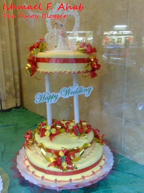 Wedding cake from Salazar Bakery