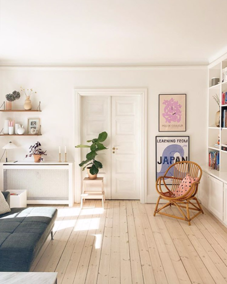 Malene and Jeppe's Pastel Copenhagen Home – With Lots of Dots!