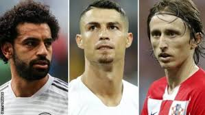 Cristiano Ronaldo, Luka Modric and Mohammed Salah emerges the top three finalist for 2017/2018 Ballon d'or award