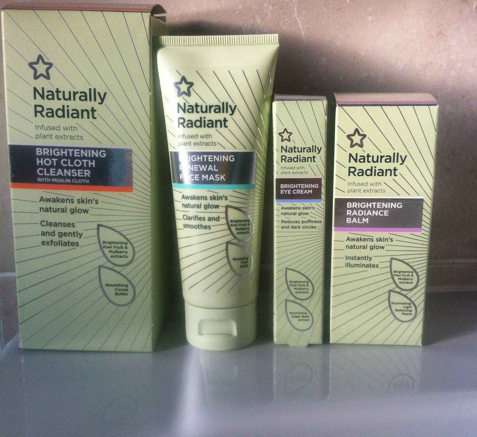 Superdrug Naturally Radiant Skincare China Doll Diaries