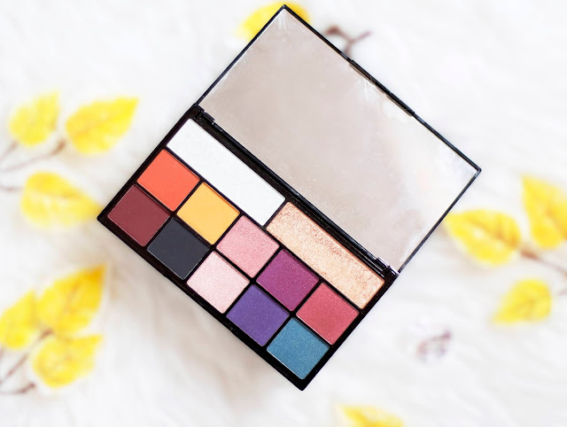 Makeup Revolution paleta de colores vivos