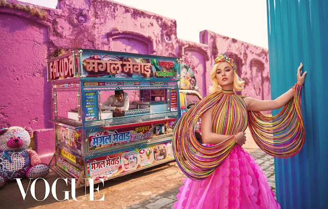 Katy Perry Talks About Her Missteps & Depression As She Covers Vogue India's January 2020 Issue