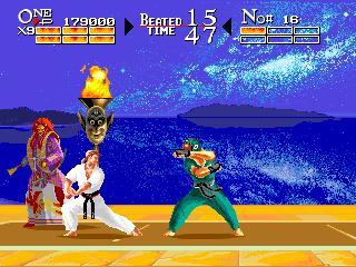 Karate Chakun Yaraku Shanku: The Karate Tournament+arcade+game+portable+download free