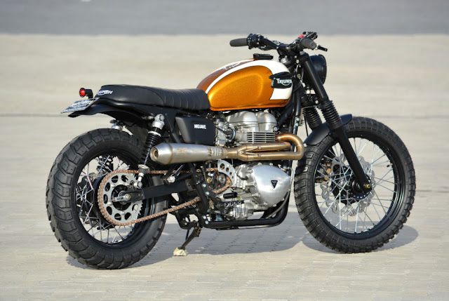 Triumph Bonneville By Walzwerk Racing Hell Kustom